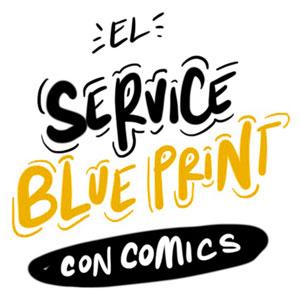 ¿Cómo hacer un service blueprint con COMICS?