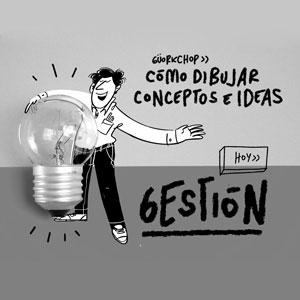 ¿Cómo dibujar el concepto de gestión?