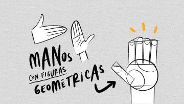 como dibujar manos