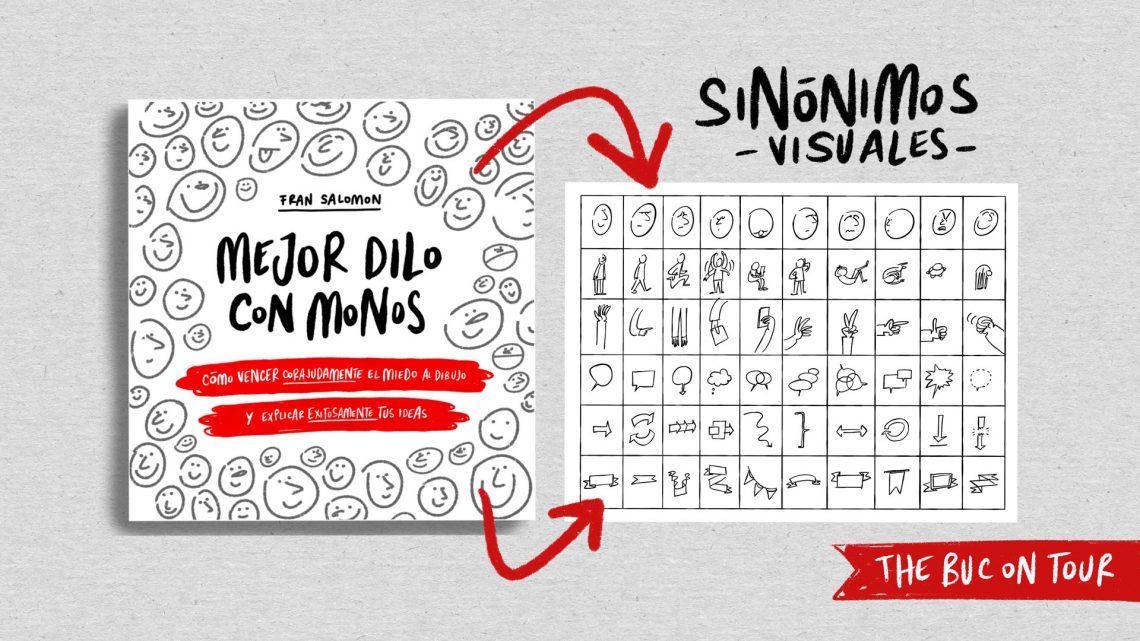 sinonimos visuales en libro mejor dilo con monos